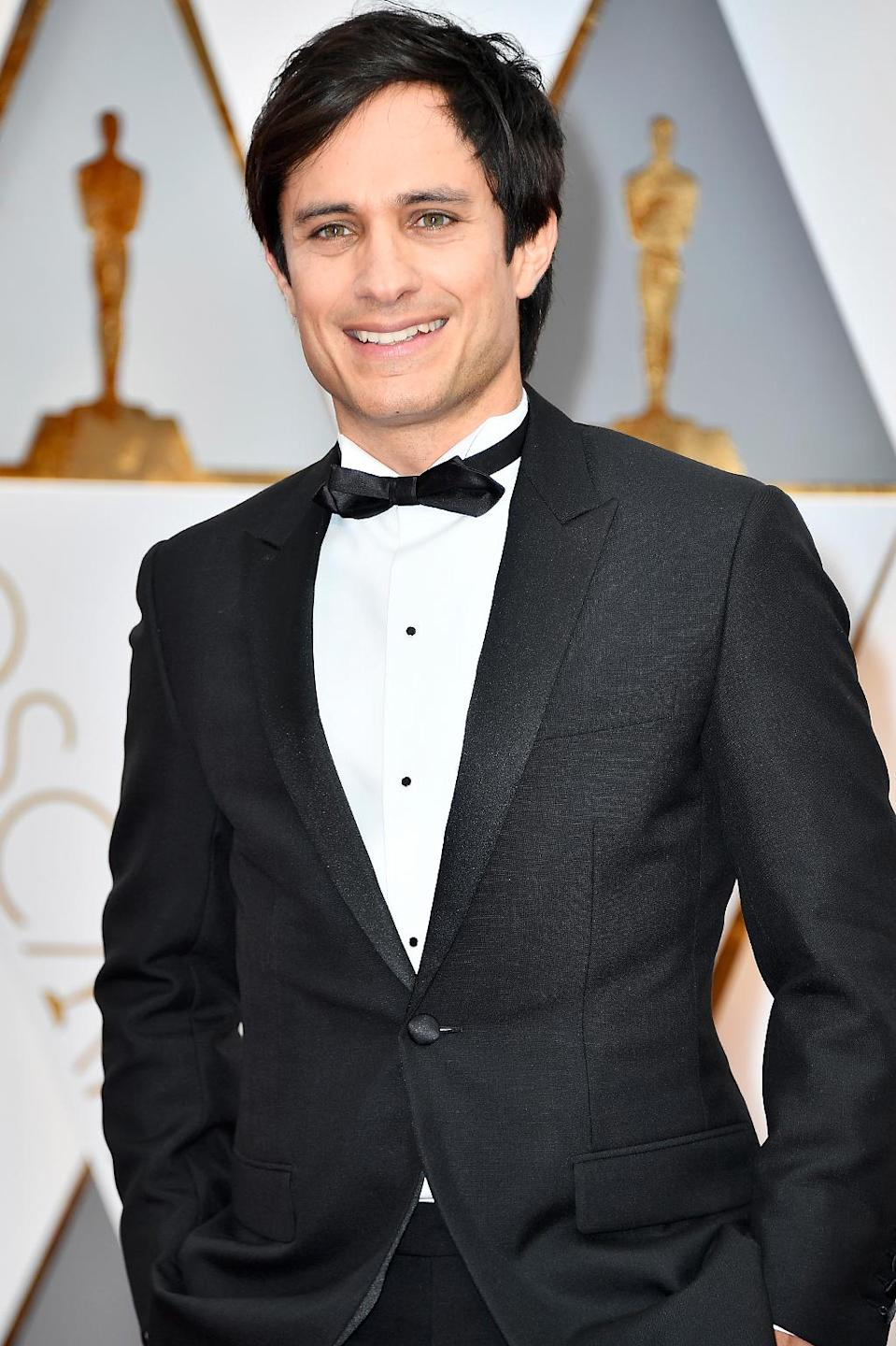 <p>Actor Gael García Bernal attends the 89th Annual Academy Awards at Hollywood & Highland Center on February 26, 2017 in Hollywood, California. (Photo by Frazer Harrison/Getty Images) </p>