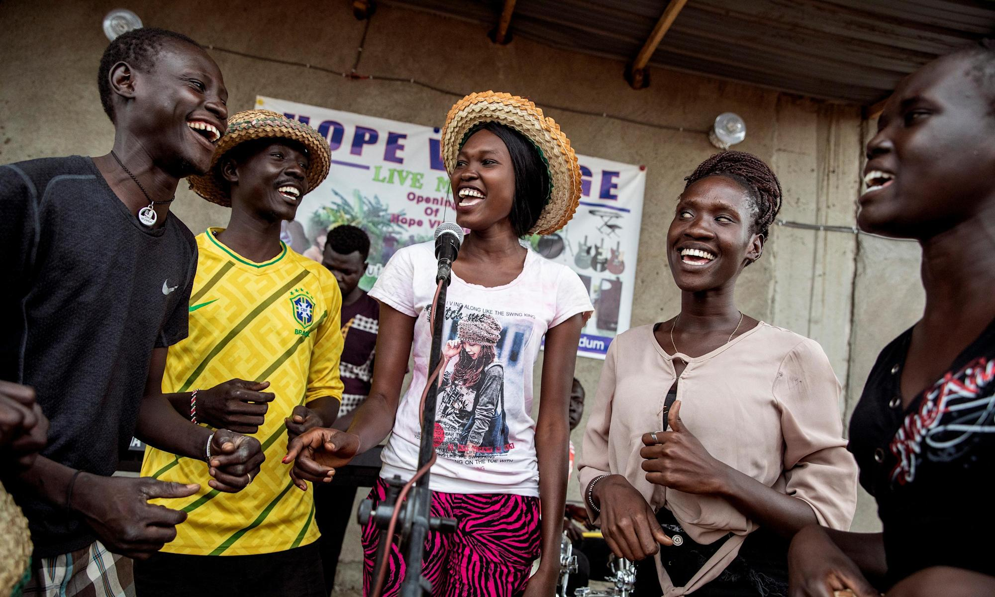 'South Sudan is one long poem': the music that shaped a nation – photo essay