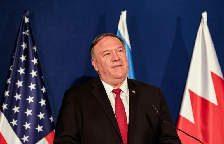 Pompeo, President Donald Trump's top diplomat, is on a farewell visit to close ally Israel