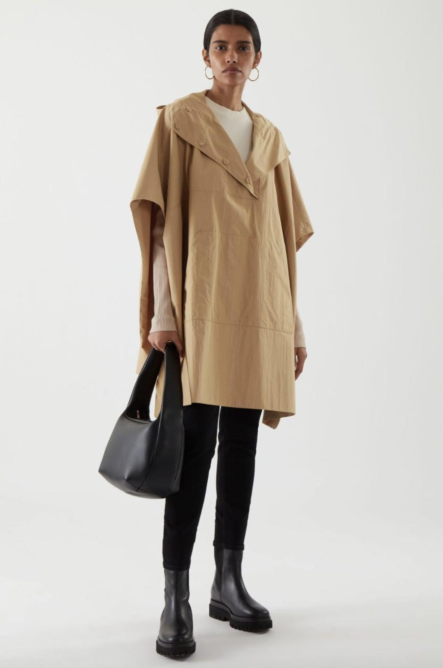 <p><span>COS Hooded Cape</span> ($175) </p>