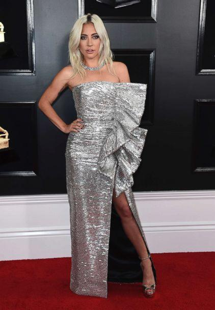 PHOTO: Lady Gaga arrives at the 61st annual Grammy Awards at the Staples Center, Feb. 10, 2019, in Los Angeles. (Jordan Strauss/Invision/AP)