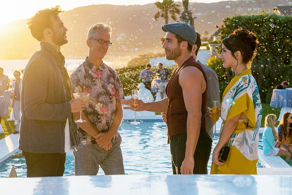 <p>Andy Dick and Miguel Ángel Silvestre<br /> (Credit: Netflix) </p>