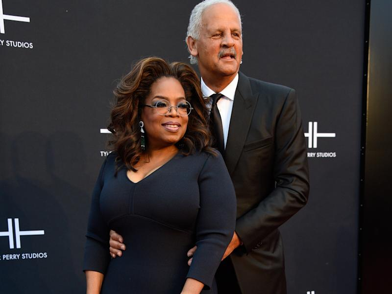 ATLANTA, GEORGIA - OCTOBER 05: Oprah Winfrey and Stedman Graham attend Tyler Perry Studios grand opening gala at Tyler Perry Studios on October 05, 2019 in Atlanta, Georgia. (Photo by Paul R. Giunta/Getty Images)