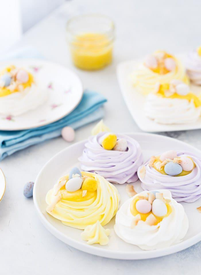 "<p>These pastel coconut meringue ""nests"" are almost too pretty to eat. The lemon curd whipped coconut cream in the middle is the perfect way to bring it all together.</p><p><strong>Get the recipe at <a href=""https://aclassictwist.com/coconut-meringue-nests/"" rel=""nofollow noopener"" target=""_blank"" data-ylk=""slk:A Classic Twist"" class=""link rapid-noclick-resp"">A Classic Twist</a>.</strong></p><p><strong><a class=""link rapid-noclick-resp"" href=""https://go.redirectingat.com?id=74968X1596630&url=https%3A%2F%2Fwww.walmart.com%2Fbrowse%2Fhome%2Ffood-prep%2F4044_623679_133020_642199%3Ffacet%3Dbrand%253AThe%2BPioneer%2BWoman&sref=https%3A%2F%2Fwww.thepioneerwoman.com%2Ffood-cooking%2Fmeals-menus%2Fg35408493%2Feaster-desserts%2F"" rel=""nofollow noopener"" target=""_blank"" data-ylk=""slk:SHOP MIXING BOWLS"">SHOP MIXING BOWLS</a><br></strong></p>"