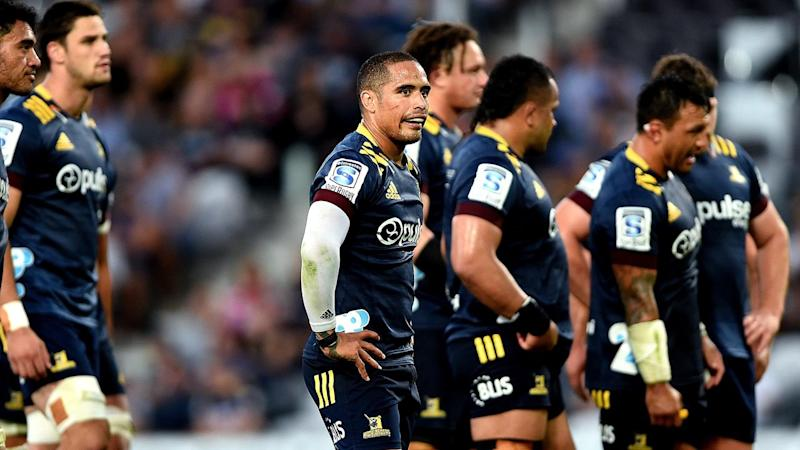 SUPER RUGBY HIGHLANDERS REBELS