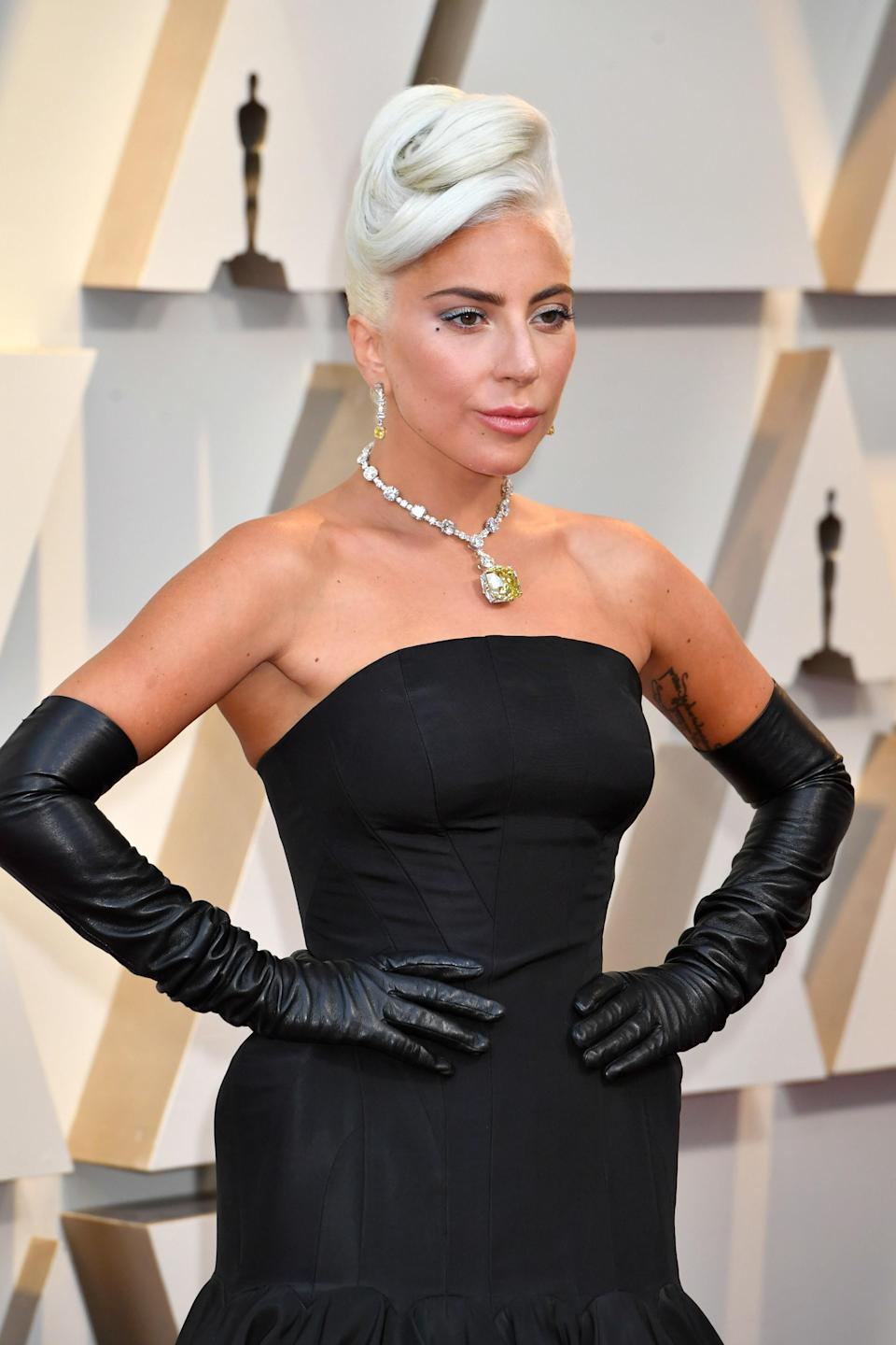 """An unnamed source told <a href=""""https://www.usmagazine.com/celebrity-news/news/lady-gaga-splits-from-dan-horton-after-nearly-3-months/"""" rel=""""nofollow noopener"""" target=""""_blank"""" data-ylk=""""slk:Us Magazine"""" class=""""link rapid-noclick-resp""""><em>Us Magazine</em></a> that Lady Gaga and sound engineer Dan Horton have ended their relationship. She seemed to confirm the news by referring to herself as a """"single lady"""" in an Instagram story posted from a friend's bachelorette party. Lady Gaga and Horton were first linked in July, following her <a href=""""https://www.glamour.com/story/lady-gaga-and-christian-carino-have-split?mbid=synd_yahoo_rss"""" rel=""""nofollow noopener"""" target=""""_blank"""" data-ylk=""""slk:split"""" class=""""link rapid-noclick-resp"""">split</a> from fiancé Christian Carino in February. Lady Gaga kept her relationship with Horton tightly under wraps—so much so that they weren't publicly photographed together."""