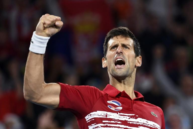 """Novak Djokovic said the win was """"one of the nicest moments"""" of his career"""