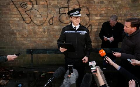 Divisional Commander Phil Ward gives a press conference about the disappearance of 21-year-old Libby Squire - Credit: SWNS