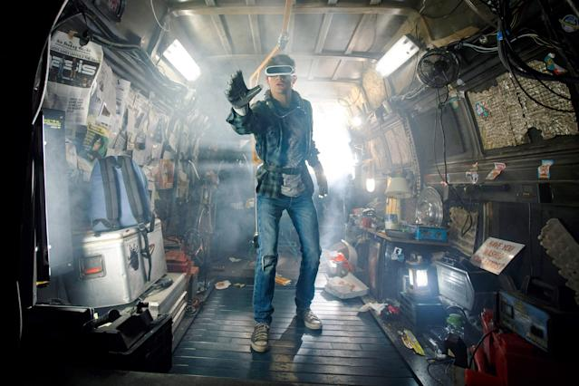 Tye Sheridan stars in <em>Ready Player One</em>. (Photo: Jaap Buitendijk/Warner Bros. Pictures/Courtesy Everett Collection)