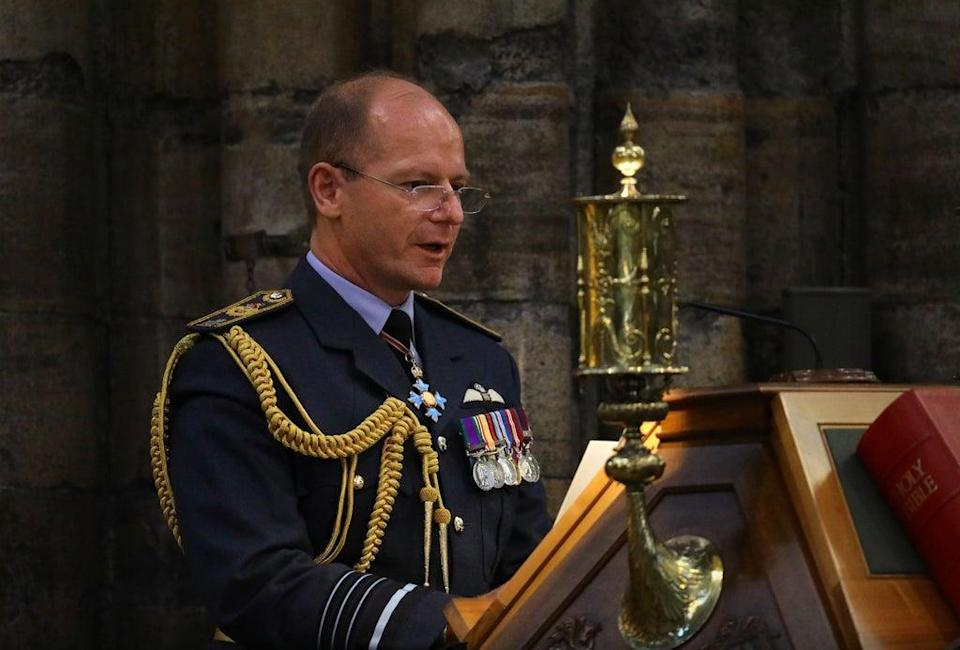 Air Chief Marshal Sir Mike Wigston (Aaron Chown/PA) (PA Archive)
