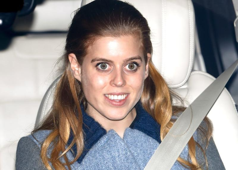 Princess Beatrice arrives at Queen's Christmas lunch | Max Mumby/Indigo/Getty Images