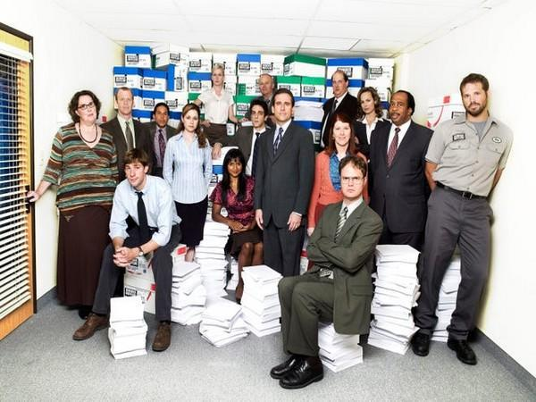 The cast of 'The Office' (Image source: Instagram)
