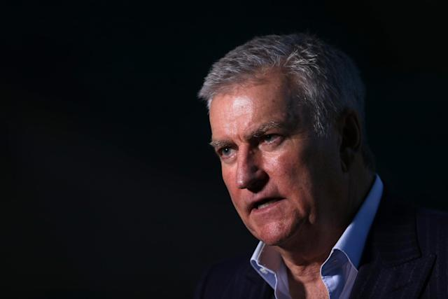RFU chief executive Bill Sweeney announced the suspension of English domestic rugby outside the Premiership on Friday (Getty Images)