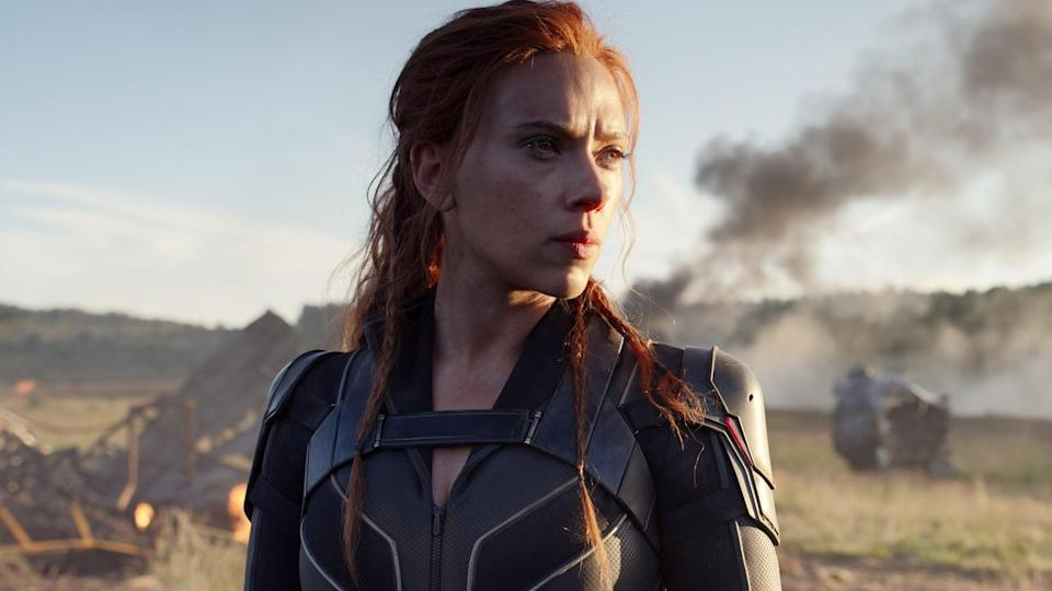 """<p>The Black Widow standalone flick was officially <a href=""""https://variety.com/2020/film/box-office/black-widow-release-coronavirus-1203532996/"""" class=""""link rapid-noclick-resp"""" rel=""""nofollow noopener"""" target=""""_blank"""" data-ylk=""""slk:pulled off Marvel's release schedule"""">pulled off Marvel's release schedule</a> on March 17, 2020. Originally scheduled for May 11, 2020, the film's release <a href=""""https://www.popsugar.com/entertainment/black-widow-release-date-disney-plus-theaters-48233008"""" class=""""link rapid-noclick-resp"""" rel=""""nofollow noopener"""" target=""""_blank"""" data-ylk=""""slk:has been pushed to July 9"""">has been pushed to July 9</a> and will drop in theaters and on Disney+ Premier Access.</p>"""