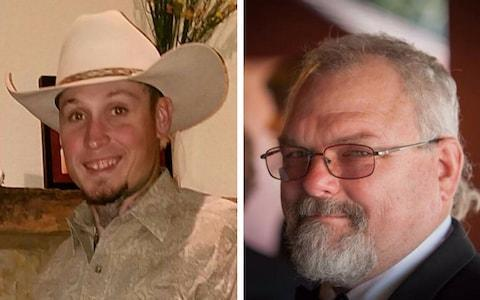 <span>Johnnie Langendorff, left, and Stephen Willeford helped stop the gunman</span>
