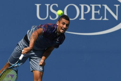 Kyrgios crashes out of US Open after right shoulder injury