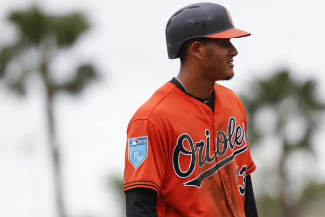 Manny Machado is expected to be one of the prizes of next year's free-agent class. (AP)