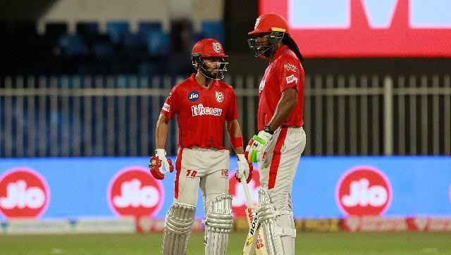 KXIP recovered well from that early blow as KL Rahul and Chris Gayle built a 120-run stand for the second wicket. Sportzpics