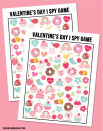 """<p>Keep kids of all ages entertained with this free I Spy printable.</p><p><strong>Get the tutorial at <a href=""""https://livelaughrowe.com/valentines-day-i-spy-printable/"""" rel=""""nofollow noopener"""" target=""""_blank"""" data-ylk=""""slk:Live Laugh Rowe"""" class=""""link rapid-noclick-resp"""">Live Laugh Rowe</a>.</strong></p><p><strong><a class=""""link rapid-noclick-resp"""" href=""""https://www.amazon.com/Neenah-Cardstock-Heavy-Weight-Brightness-91437/dp/B07D4YF3K4?tag=syn-yahoo-20&ascsubtag=%5Bartid%7C10050.g.25916974%5Bsrc%7Cyahoo-us"""" rel=""""nofollow noopener"""" target=""""_blank"""" data-ylk=""""slk:SHOP CARD STOCK"""">SHOP CARD STOCK</a><br></strong></p>"""