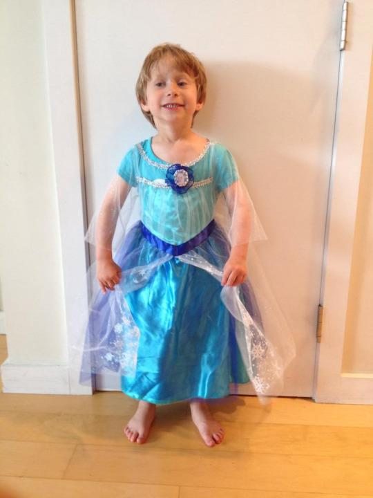 why i post pictures of my son wearing dresses on facebook