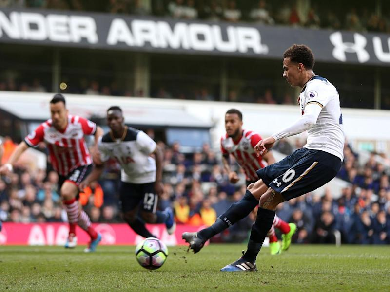 Alli scored from the spot (Getty)