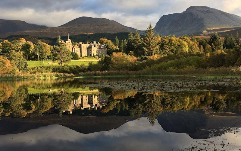 If you're staying at Inverlochy Castle, the River Lundie walk is a good leg-stretcher, mainly through the trees of Leanachan Forest and a short section of riverside