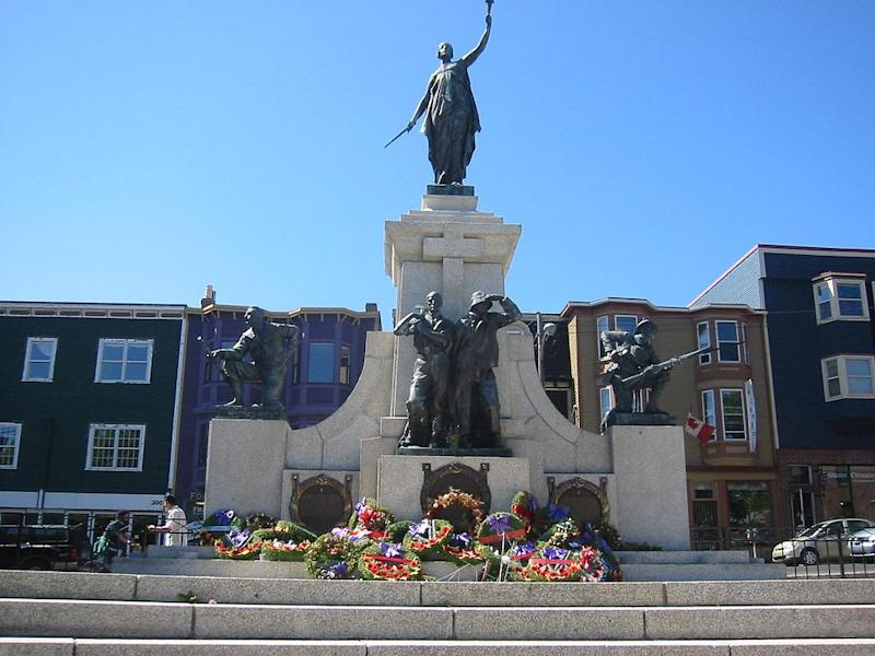 Newfoundland national memorial Wikimedia Commons