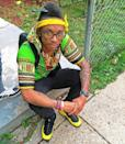 Swipey, aka Douglas Brooks, was a rising rapper who was shot and killed near his mother's home in Maryland on Aug. 21. He was just 18 years old. (Photo: Instagram)