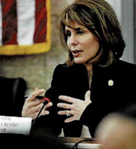 My appointment in 2008 as chair of the powerful Senate Budget and Appropriations Committee didn't come without a fight. Setting a respectful tone while quietly making history as the first woman in this post was paramount. (Photo: Photo Courtesy of Barbara Buono)