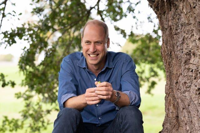 William launched his Earthshot Prize last year