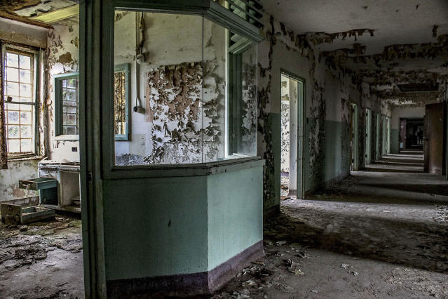 <p>The photographer began making these illicit visits after coming across a lot of abandoned buildings. (Caters News) </p>