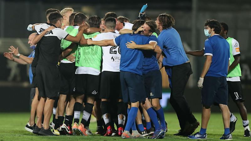 Spezia promoted to Serie A for first time despite defeat to Frosinone