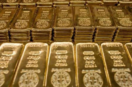 Gold was lower on Wednesday.