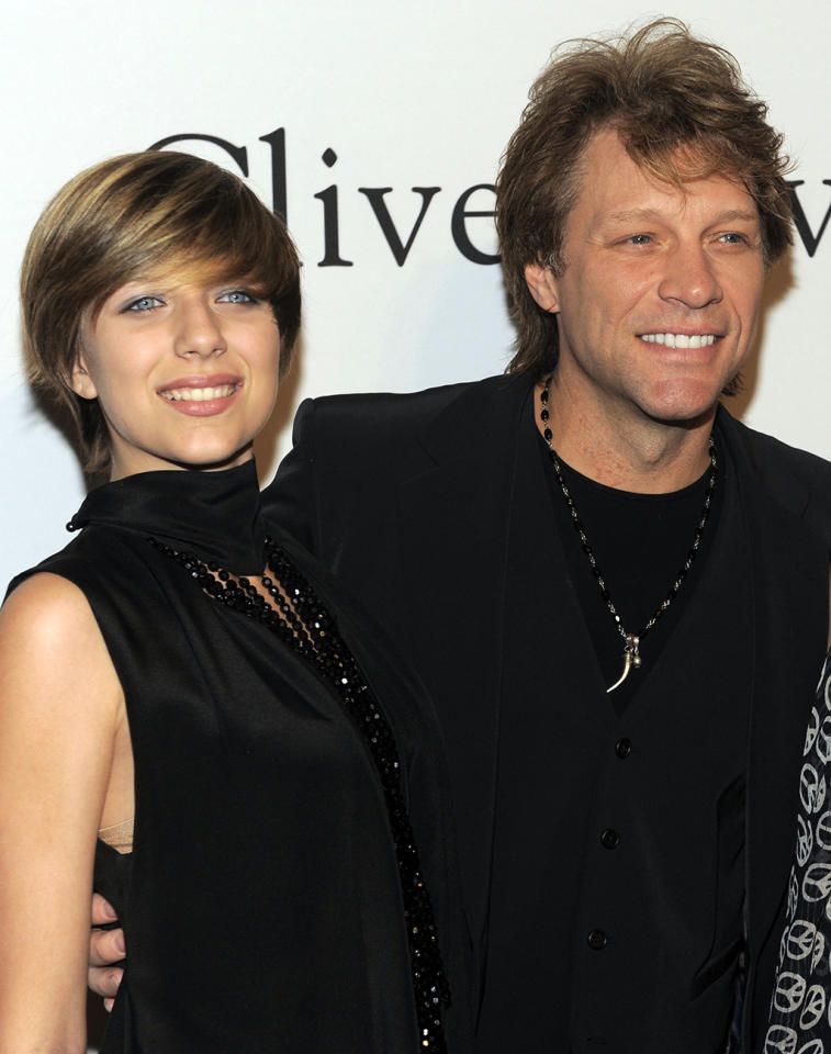 "Bon Jovi's daughter, Stephanie Bongiovi, recently landed in the news and is recovering from an overdose. ""I didn't have any sisters; there was no manual,"" said Bon Jovi. ""So you bring her up the best you can, you surround her with hugs and kisses and know that she may eventually fall down."""