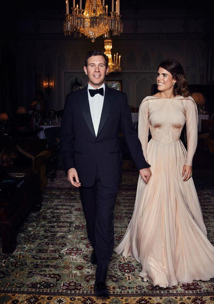 Jack Brooksbank and Princess Eugenie | Alex Bramall/PA Wire