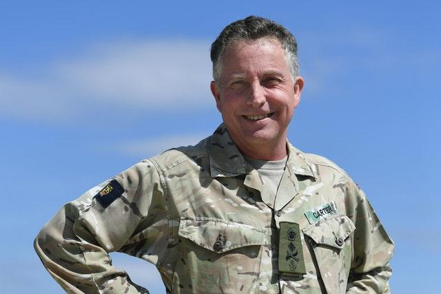 Chief of the Defence Staff visit to RAF Coningsby