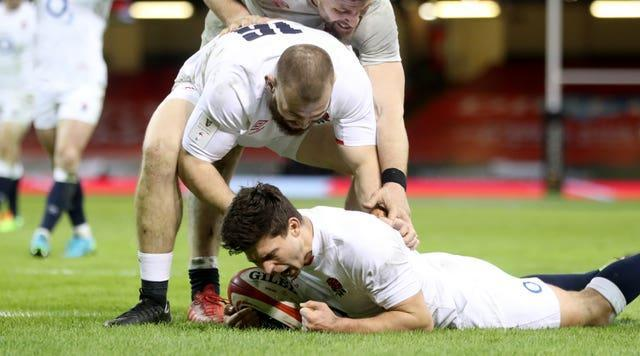 Ben Youngs dummied his way over the try-line against Wales in round three