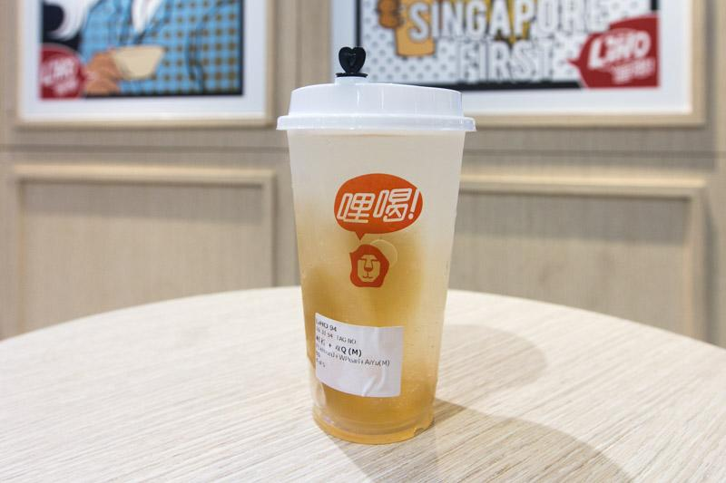 <p>One of the drinks from newly rebranded LiHo bubble tea chain </p>