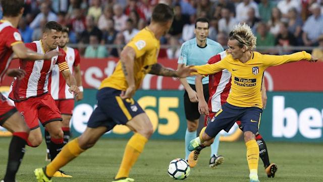 "<p>When Griezmann was sent off for calling the referee a ""f***ing bottlejob"", immediately after having been booked for diving, Atletico, strangely enough, appeared more fluid and expansive.</p> <br><p>It may simply have been that they were committing more players forward, although there was a shift in impetus that could hardly have been coincidental. While he was on the pitch, it seemed that Griezmann's teammates were almost waiting, expecting him to produce a moment of brilliance.</p> <br><p>Atletico need to mix up their attacking play instead of relying entirely on Griezmann, despite his undoubted quality. With the top scorer of the last three seasons likely suspended for the next two games, they'll have little choice.</p>"