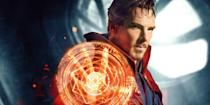 """<p>In this <a href=""""https://www.amazon.com/Marvel-Studios-Doctor-Strange-UHD/dp/B07YF3B4JJ"""" rel=""""nofollow noopener"""" target=""""_blank"""" data-ylk=""""slk:Marvel sleeper hit"""" class=""""link rapid-noclick-resp"""">Marvel sleeper hit</a>, Stephen Strange (played by Benedict Cumberbatch) becomes the Sorcerer Supreme, and in typical Marvel fashion, is tasked with saving the world. Although the visuals alone are worthing giving this movie a shot, its manipulation of time as a superpower rather than a world-altering plot device is what sets it apart from the rest.</p>"""
