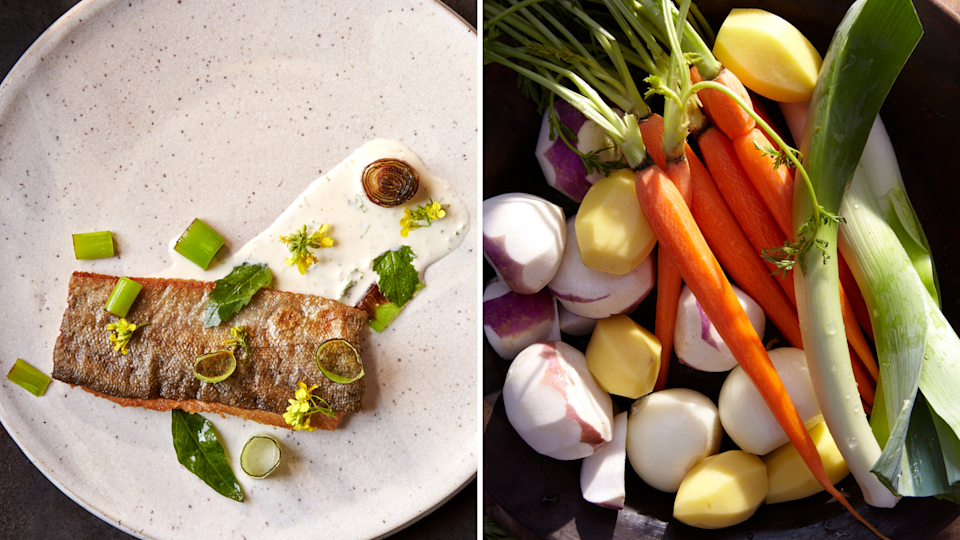Eat delicious food while dropping pounds. This book tells you how. (Photos: Gentl & Hyers)