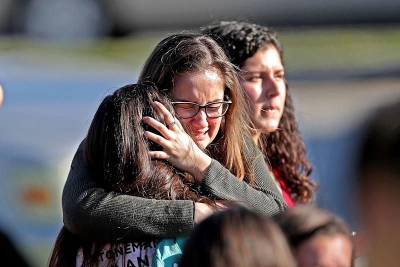 Police have confirmed 17 people are dead after a mass shooting at Stoneman Douglas High School in Parkland, Florida