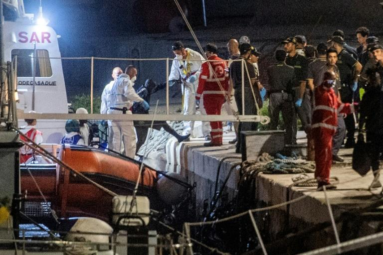 A reversal in government policy in Rome saw 82 migrants allowed to disembark in southern Italy after more than six days at sea aboard a charity rescue vessel