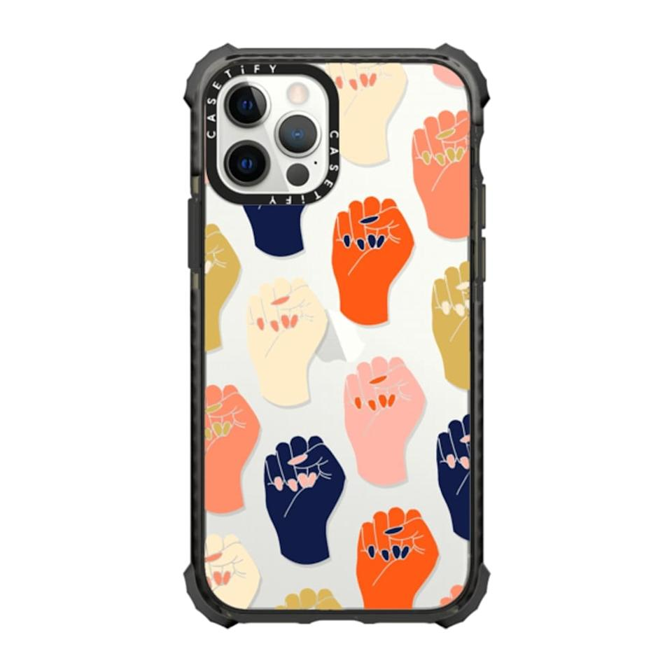 power fist Casetify phone case for mothers day 2021
