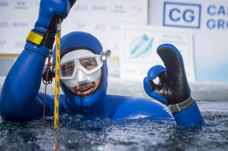 Molchanov, a 14-time world champion freediver, claims to now hold 20 world records