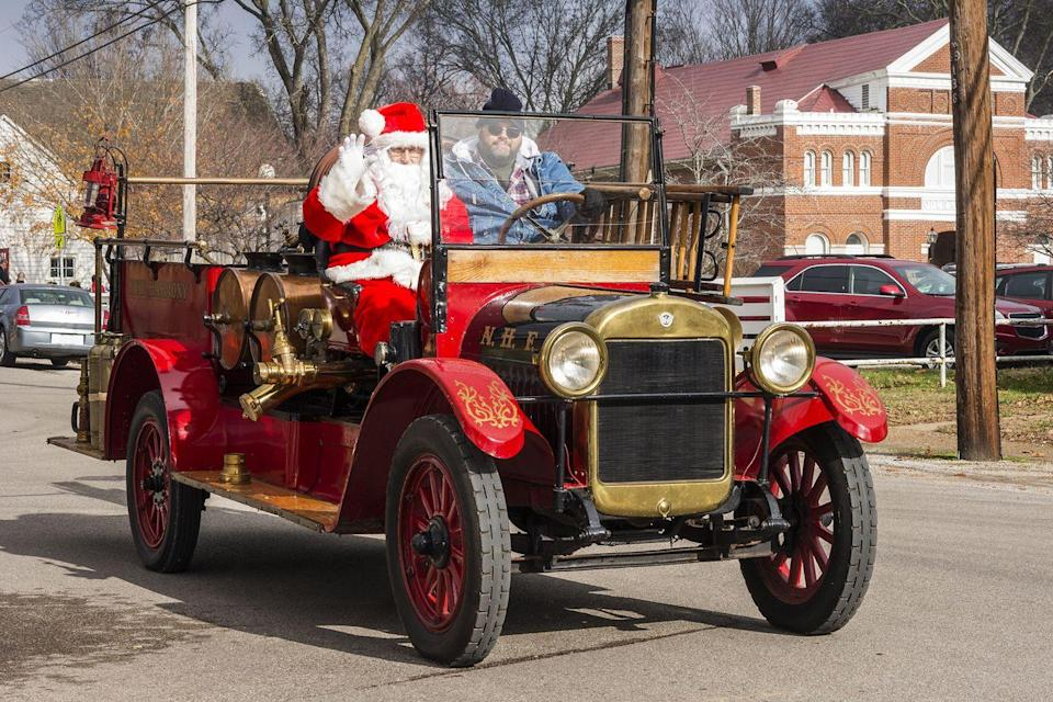 <p>Santa Claus, Indiana, personally dubbed America's Christmas Hometown, is a dream. When a local postmaster began promoting the town in the late 1920s, children's letters to Santa began pouring in and still do to this day. Each year, countless letters are answered by volunteers, a.k.a. Santa's Elves. Aside from the typical Christmas activities like a parade and light show, Santa Claus is also home to a holiday-themed amusement park, making it the ideal trip for the whole family. </p>