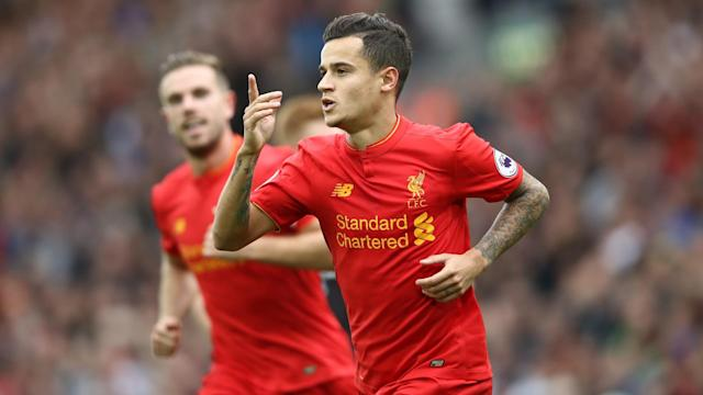 Liverpool's Premier League match with Manchester City could be crucial in the Champions League race, according to Philippe Coutinho.