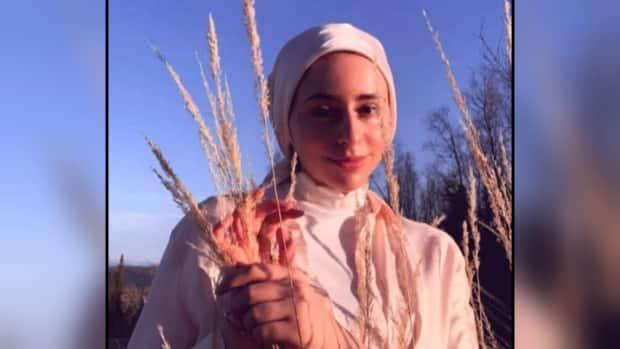 Nadia Mansour,18, a University of Northern British Columbia student in Prince George, B.C., says she fears for the safety of herself, her mother and her sister who all wear a hijab. (Submitted by Nadia Mansour - image credit)
