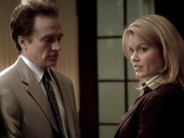 bellamy young and bradley whitford the west wing