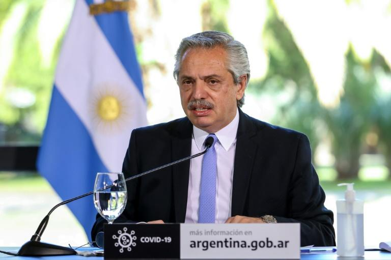 President Alberto Fernandez says Argentina would have 10,000 deaths if it had followed Brazil's approach to tackling the coronavirus